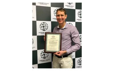 Award: SVMA Humane Achievement Award